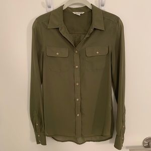 American Eagle Button-Up Shirt - Size XS